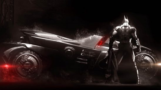 batman arkham knight batmobile wqhd 1440p wallpaper