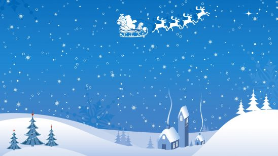 christmas santa claus wqhd 1440p wallpaper