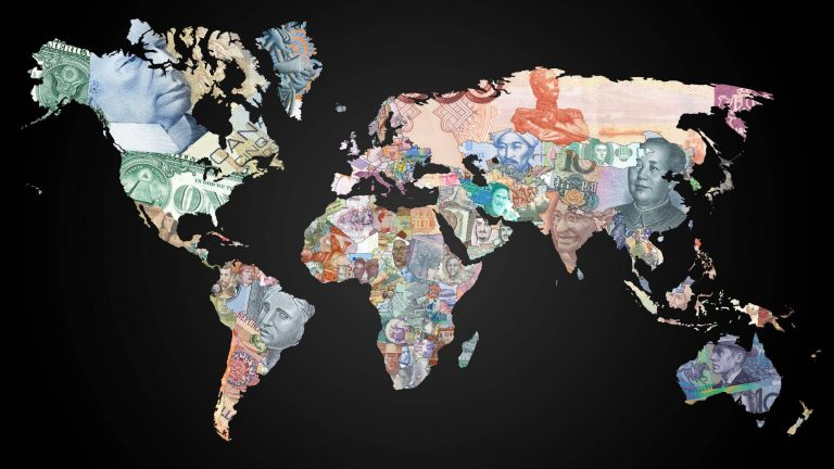 Currencies Of The World Map Wqhd 1440p Wallpaper Gilded Wallpapers