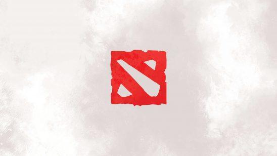 dota 2 logo wqhd 1440p wallpaper