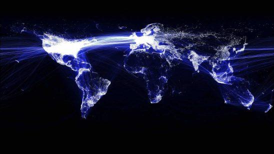 facebook world map wqhd 1440p wallpaper
