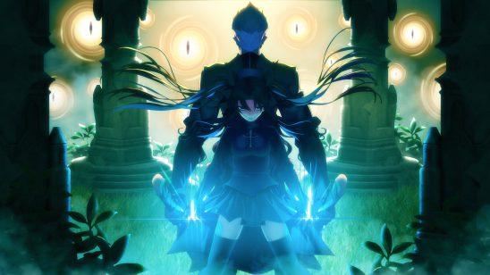 fate stay night unlimited blade works rin tohsaka shirou emiya wqhd 1440p wallpaper