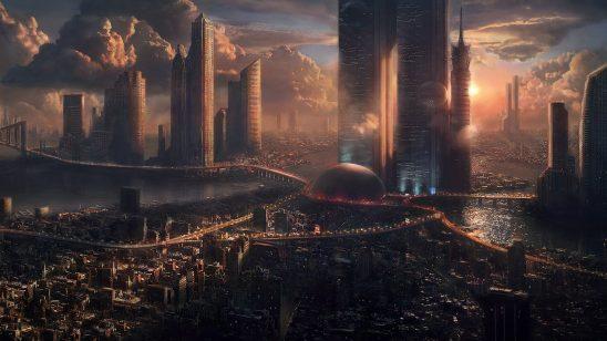 futuristic city wqhd 1440p wallpaper