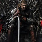 game of thrones iron throne ned stark wqhd 1440p wallpaper