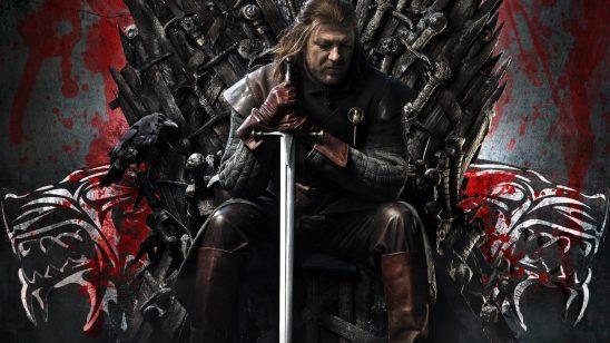 game of thrones iron throne ned stark wqhd 1440p wallpaper