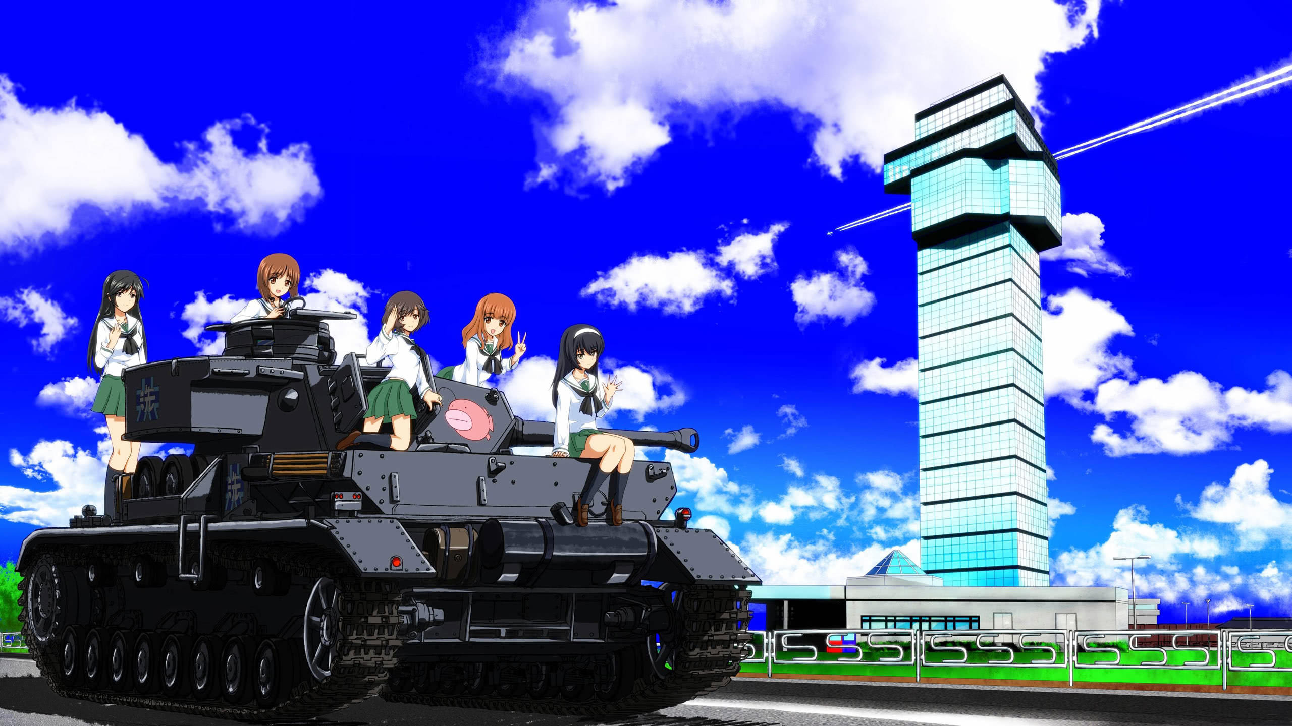girls und panzer wqhd 1440p wallpaper