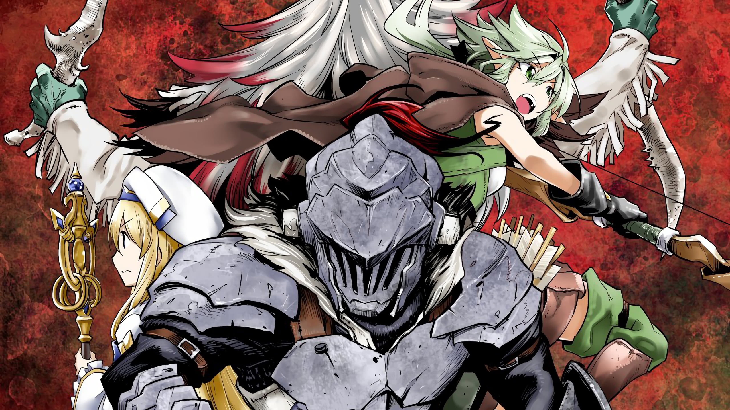 goblin slayer goblin slayer wqhd 1440p wallpaper