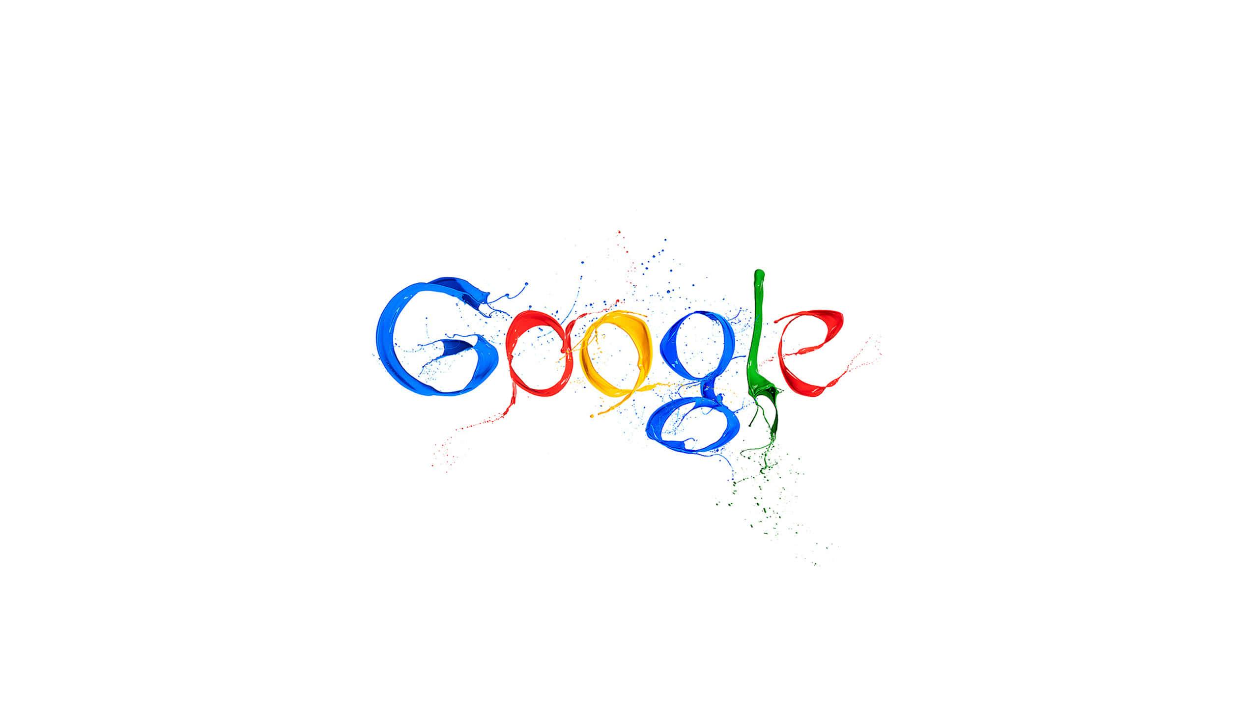 google logo paint wqhd 1440p wallpaper