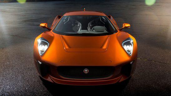 jaguar c-x75 007 james bond vilain car front wqhd 1440p wallpaper