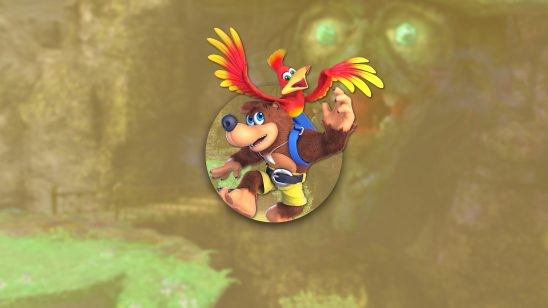 super smash bros ultimate banjo-and kazooie uhd 4k wallpaper