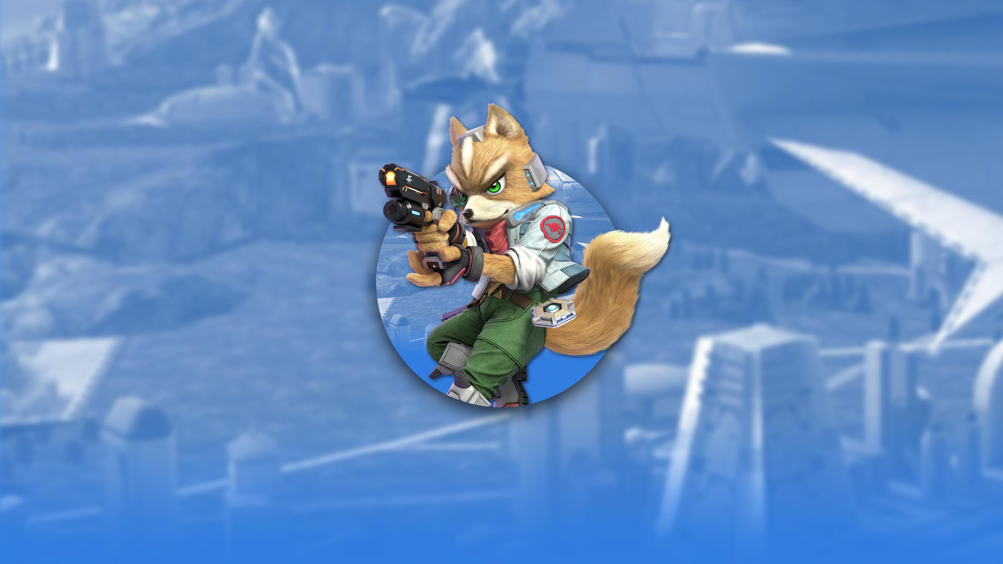 super smash bros ultimate fox uhd 4k wallpaper