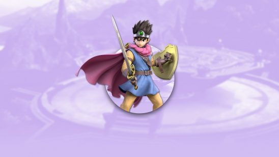 super smash bros ultimate hero aursu dqiii uhd 4k wallpaper