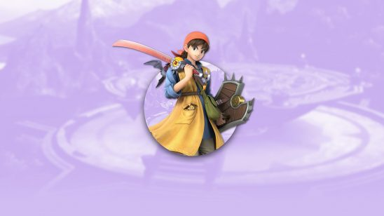 super smash bros ultimate hero eight dqviii uhd 4k wallpaper
