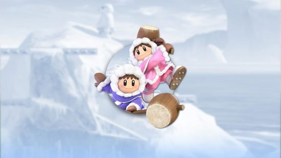 super smash bros ultimate ice climbers uhd 4k wallpaper