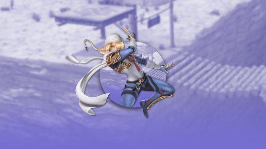 super smash bros ultimate sheik uhd 4k wallpaper