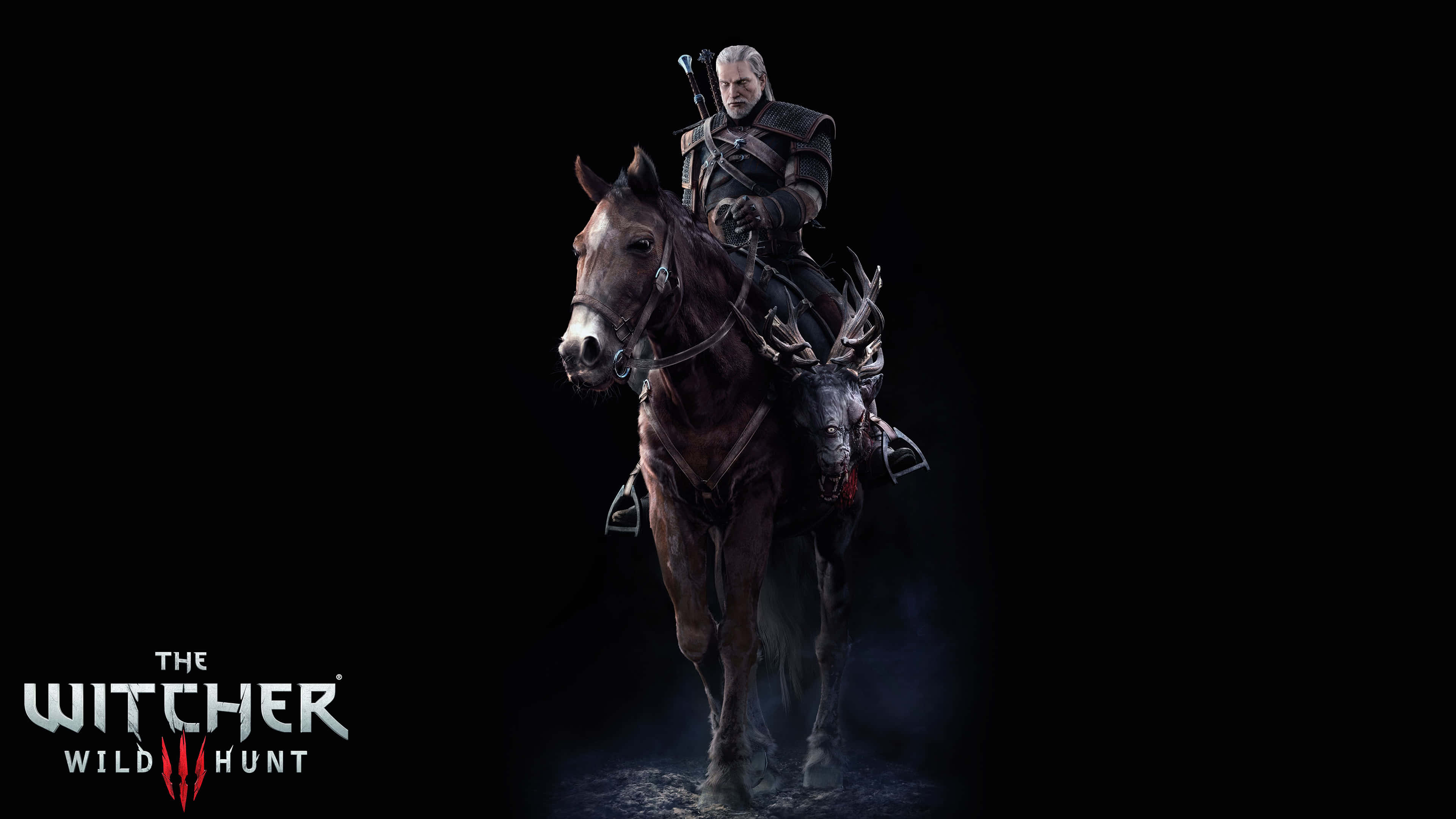 the witcher 3 wild hunt geralt and roach uhd 4k wallpaper
