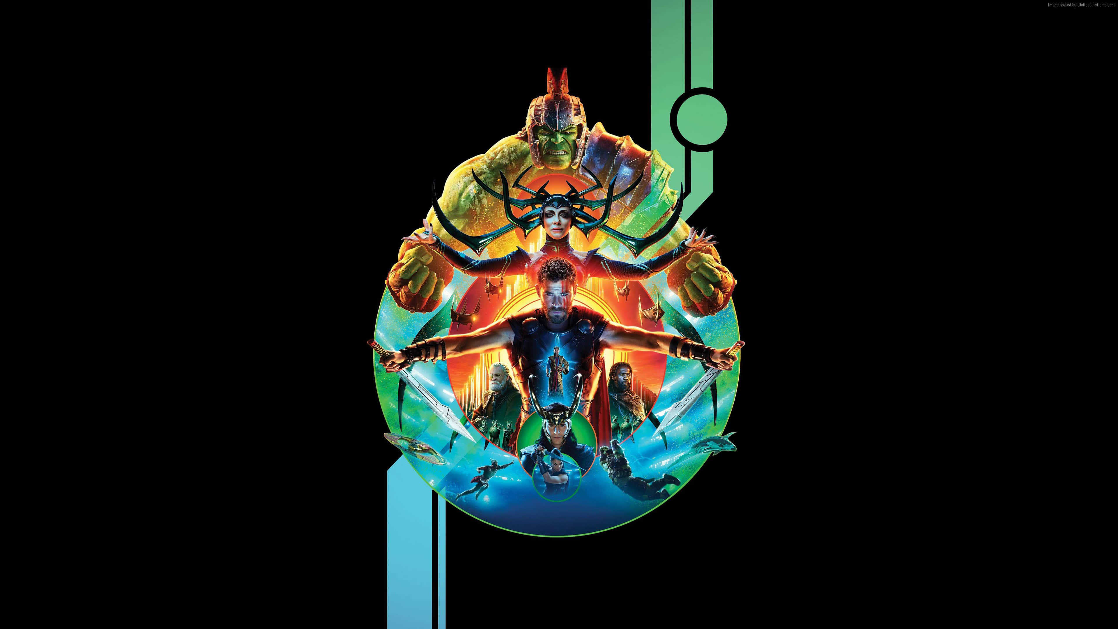 Thor Ragnarok Poster Uhd 4k Wallpaper Gilded Wallpapers