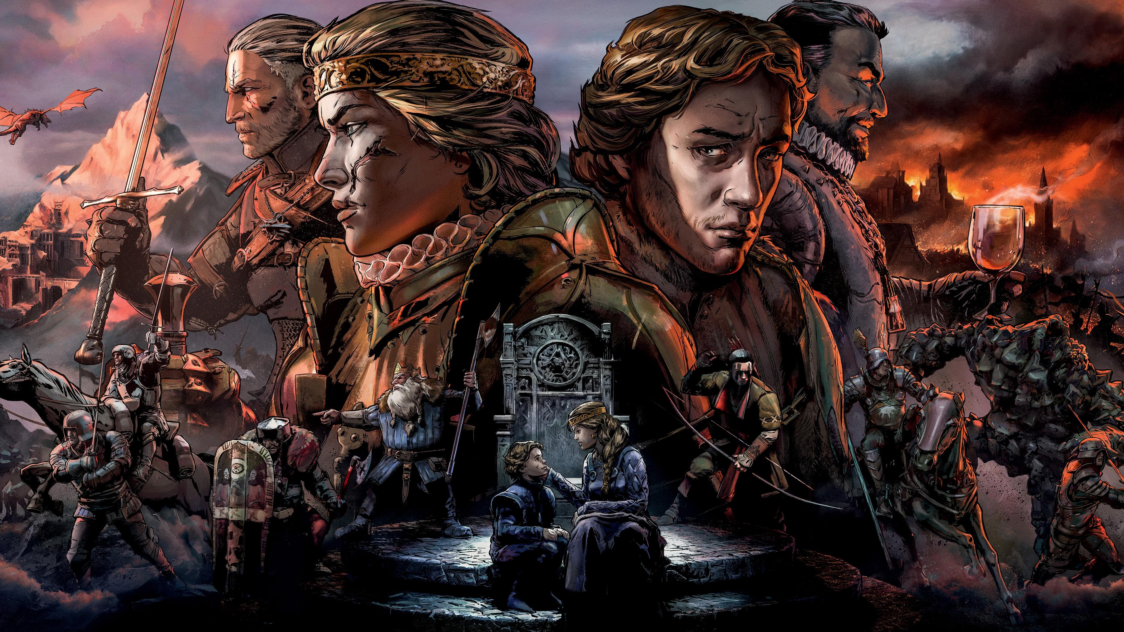 Thronebreaker The Witcher Tales Uhd 4k Wallpaper Gilded Wallpapers