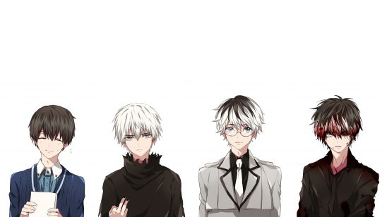 tokyo ghoul ken kaneki personalities uhd 4k wallpaper