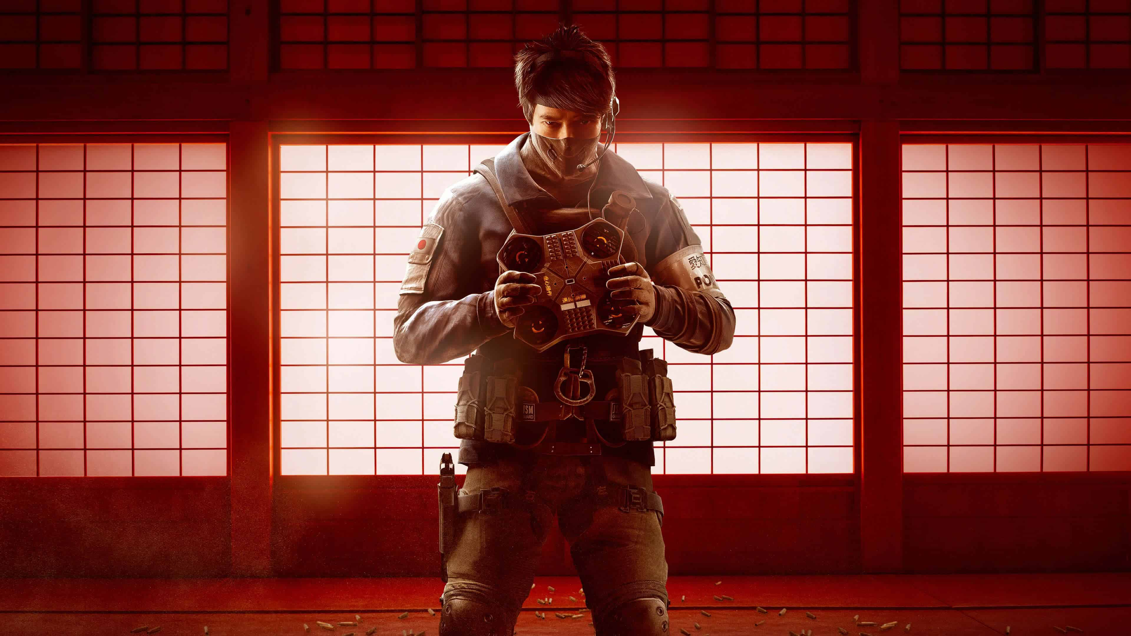 tom clancys rainbow six siege japanese operators uhd 4k wallpaper