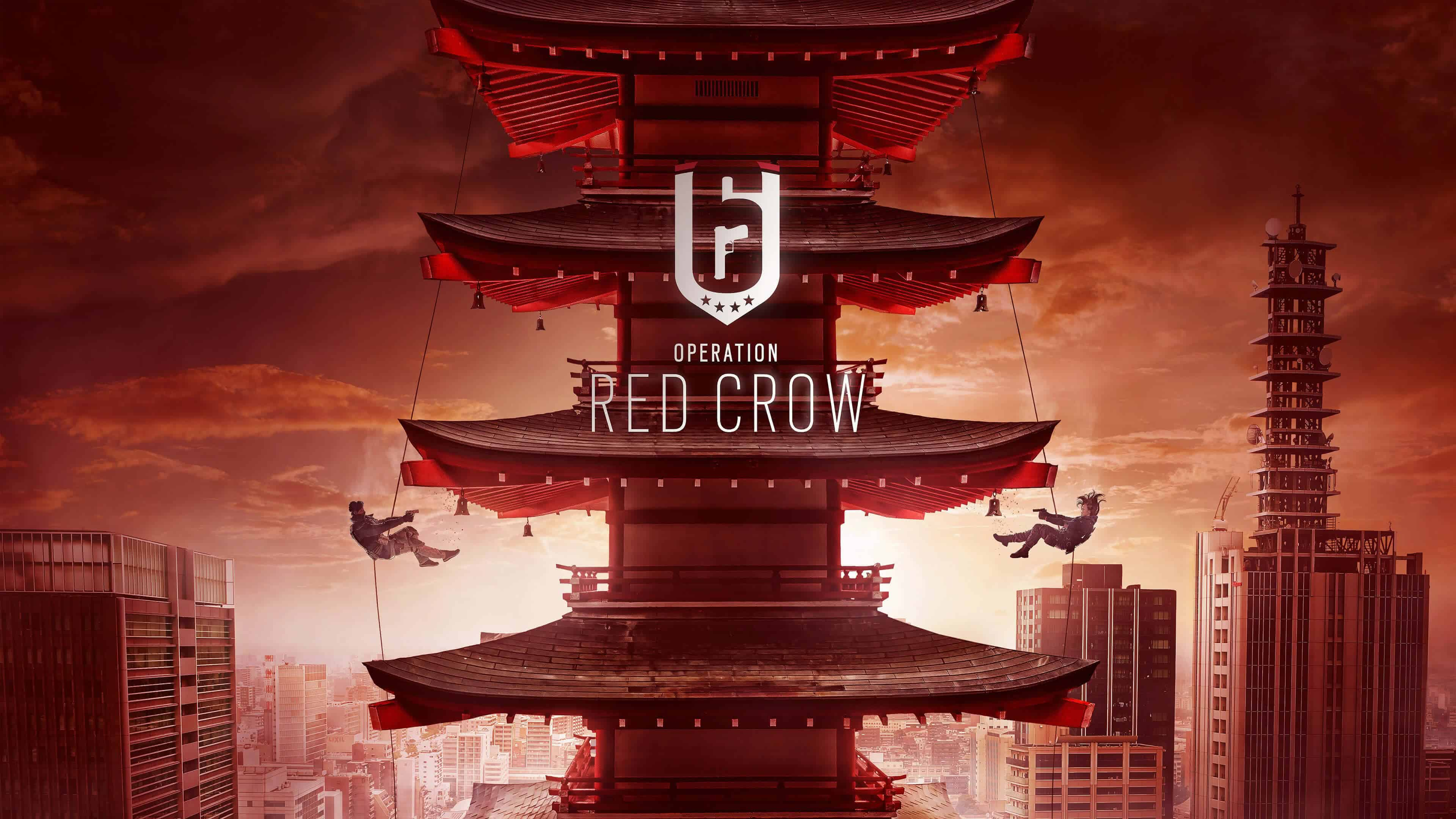 tom clancys rainbow six siege operation red crow uhd 4k wallpaper