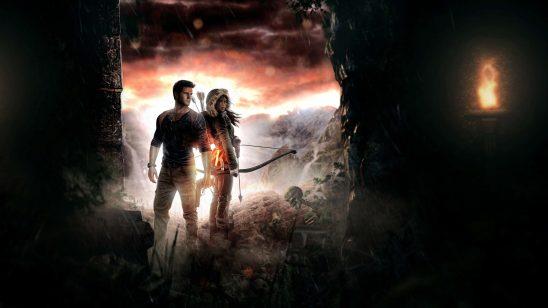 tomb raider lara croft and uncharted nathan drake uhd 4k wallpaper