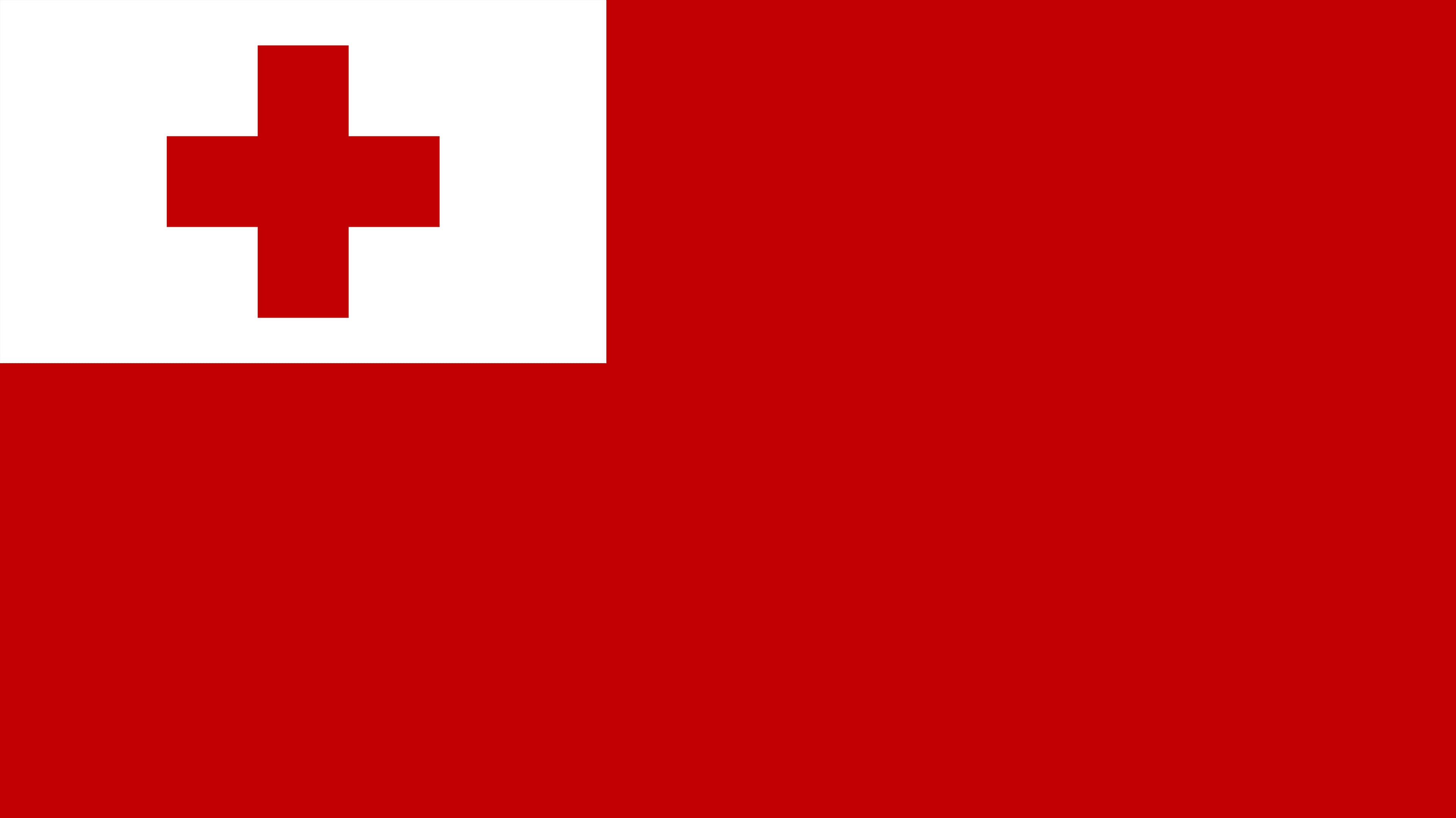tonga flag uhd 4k wallpaper