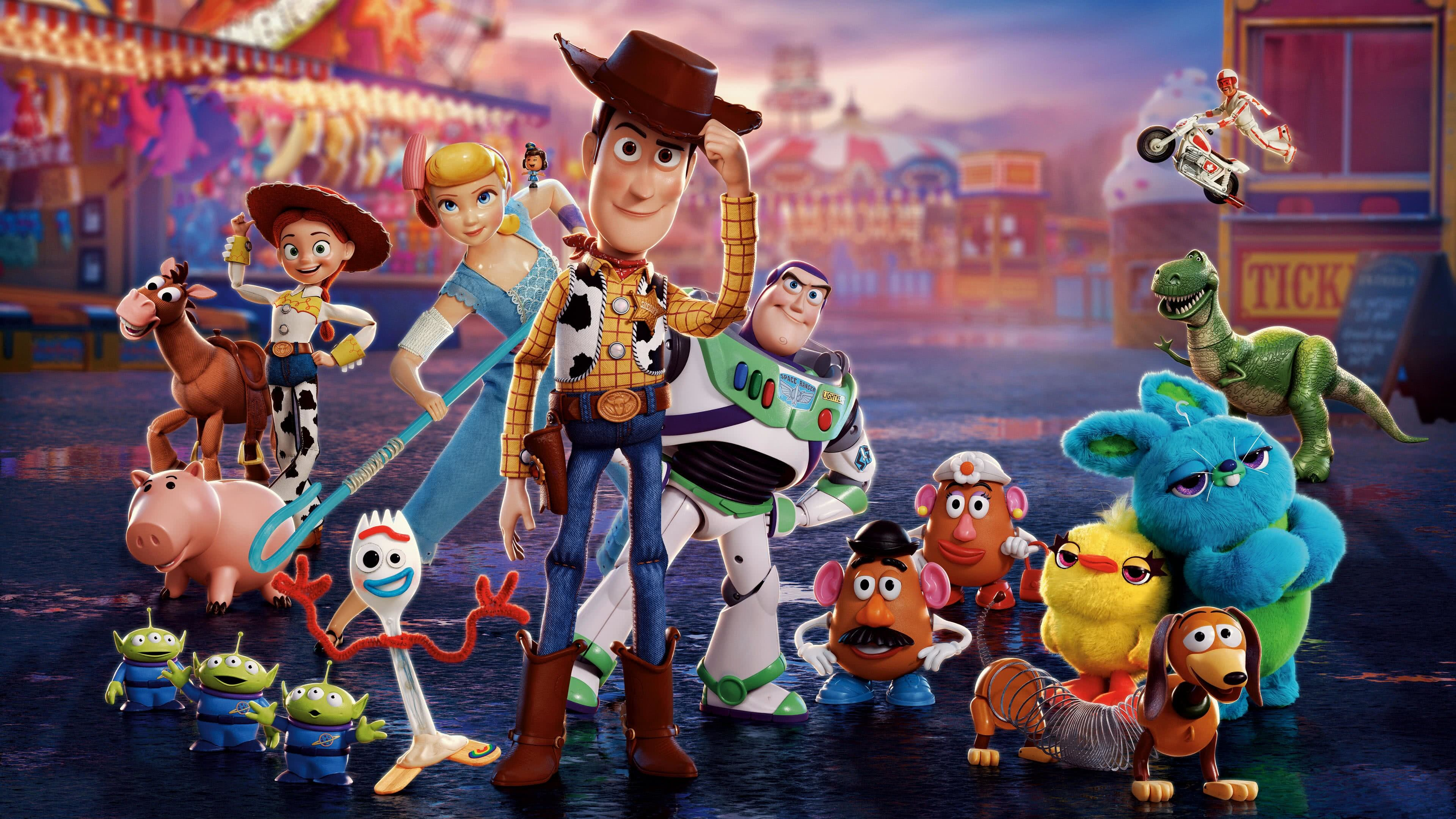 toy story 4 characters uhd 4k wallpaper