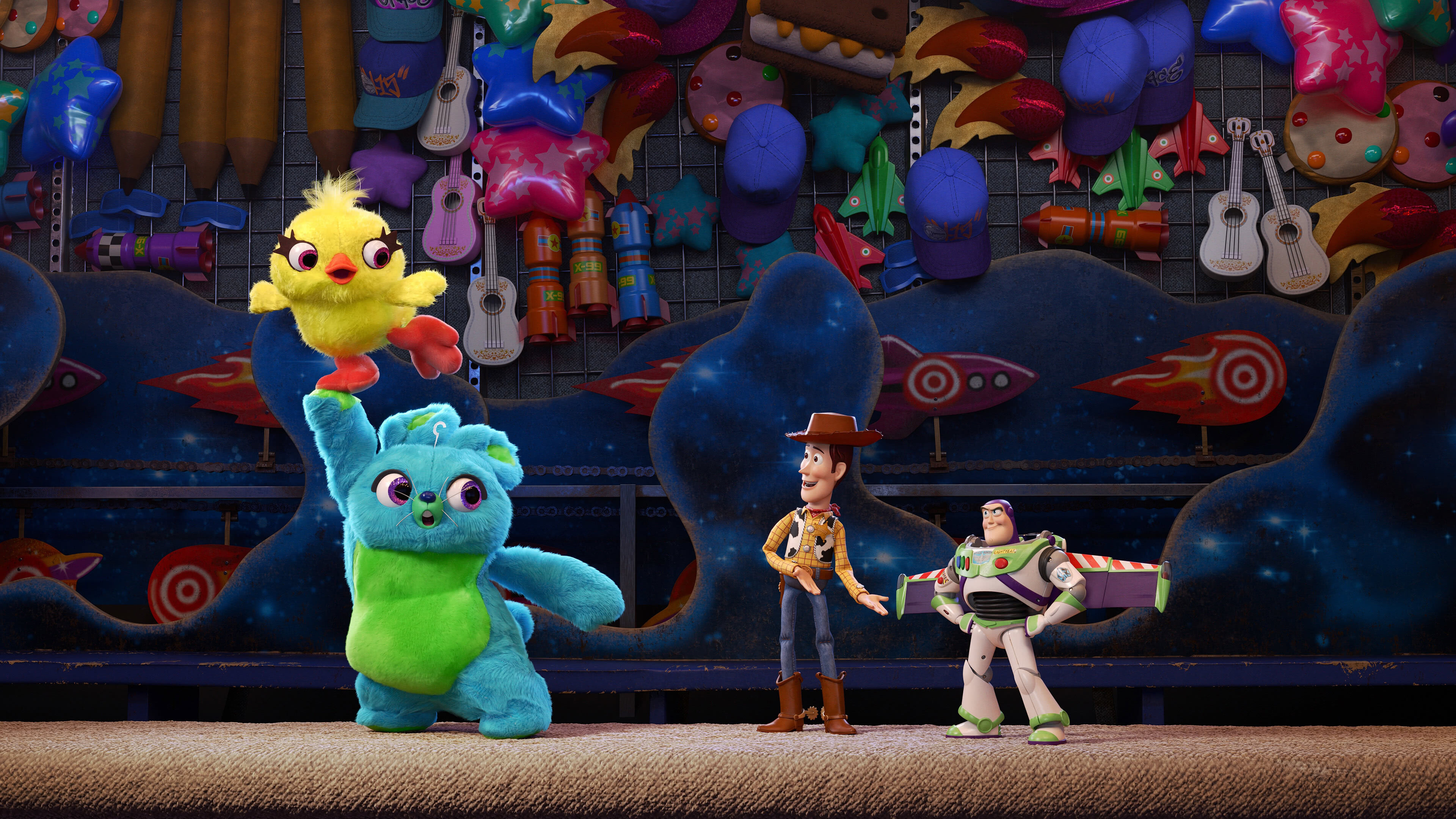 toy story 4 duke kaboom woody buzz lightyear uhd 4k wallpaper