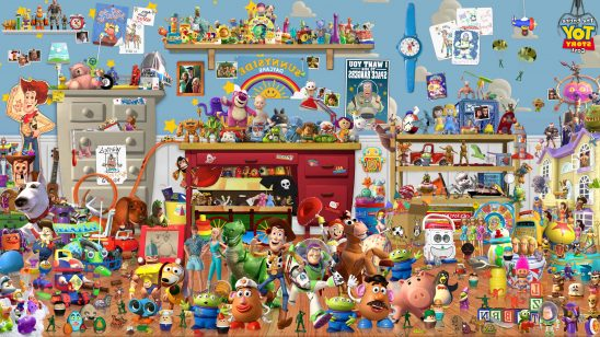 toy story entire cast uhd 4k wallpaper