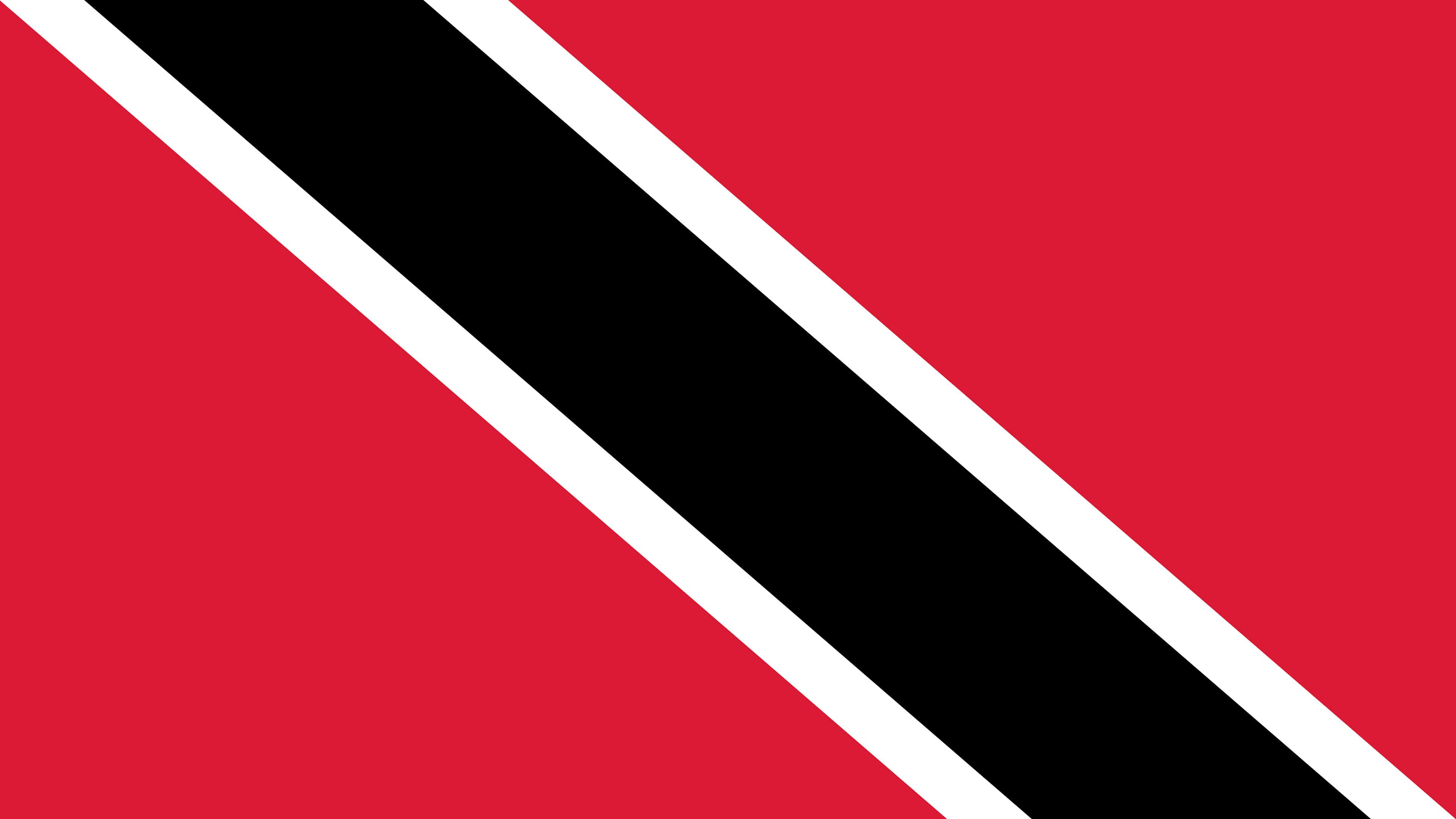 trinidad and tobago flag uhd 4k wallpaper