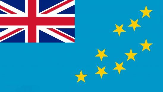 tuvalu flag uhd 4k wallpaper