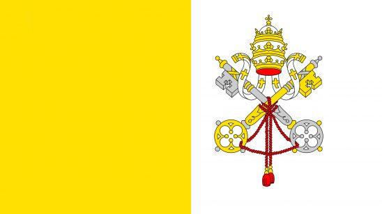vatican city flag uhd 4k wallpaper