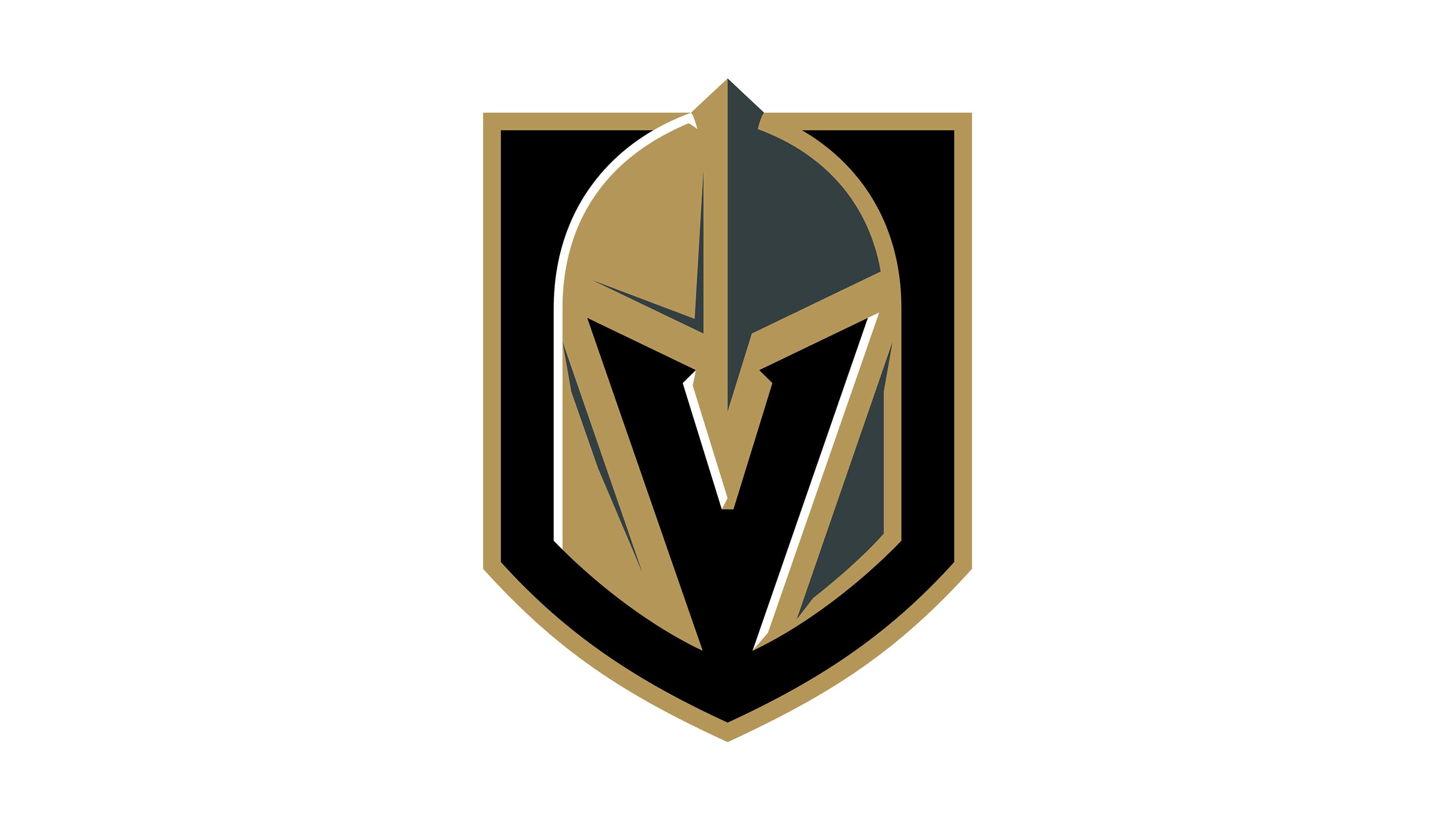 vegas golden knights nhl logo uhd 4k wallpaper