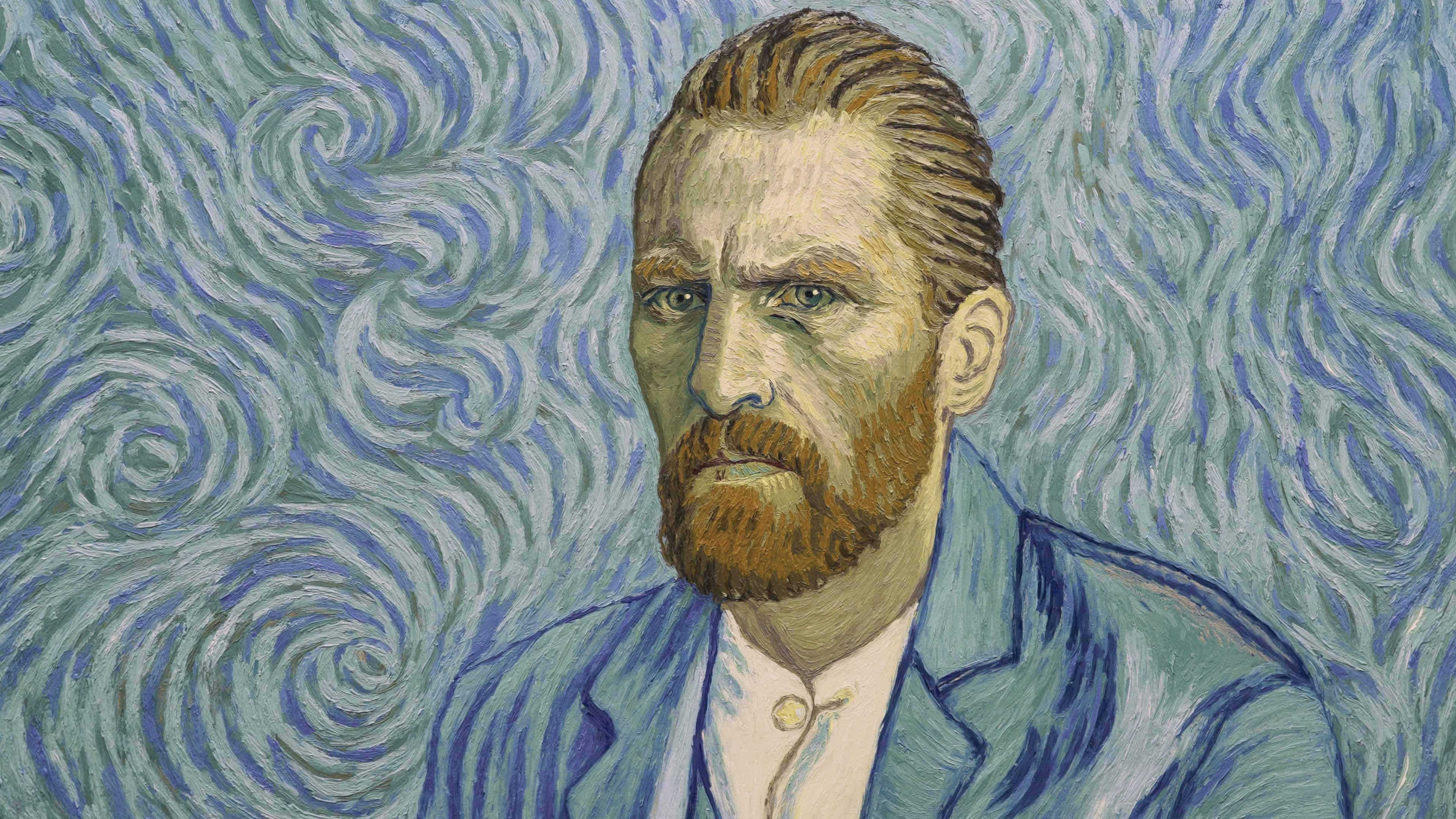 vincent van gogh self portrait painting uhd 4k wallpaper