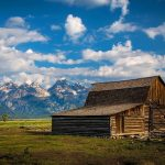 wooden barn wyoming-united states uhd 4k wallpaper