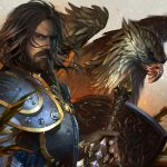 world of warcraft anduin lothar uhd 4k wallpaper