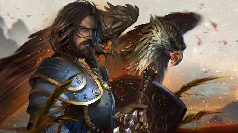 World Of Warcraft Anduin Lothar Uhd 4k Wallpaper Gilded Wallpapers