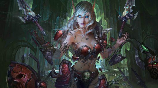 world of warcraft blood elf uhd 4k wallpaper