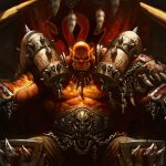 world of warcraft garrosh hellscream uhd 4k wallpaper