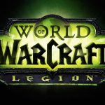 world of warcraft legion logo uhd 4k wallpaper