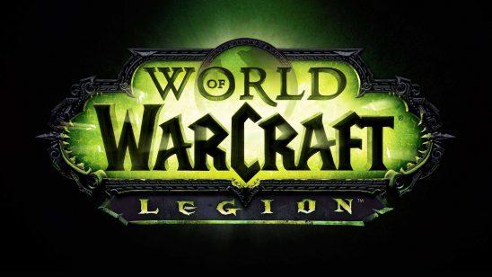 world of warcraft legion logo uhd 4k wallpaper