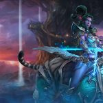 world of warcraft tyrande whisperwind uhd 4k wallpaper