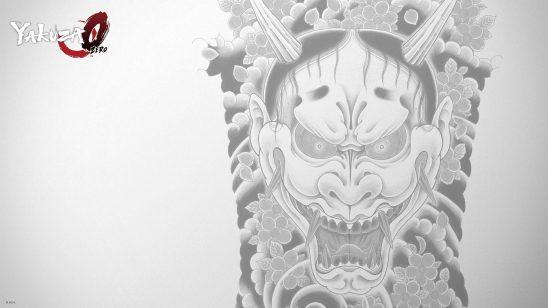 yakuza zero hannya uhd 4k wallpaper