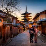 yasaka shrine kyoto japan uhd 4k wallpaper