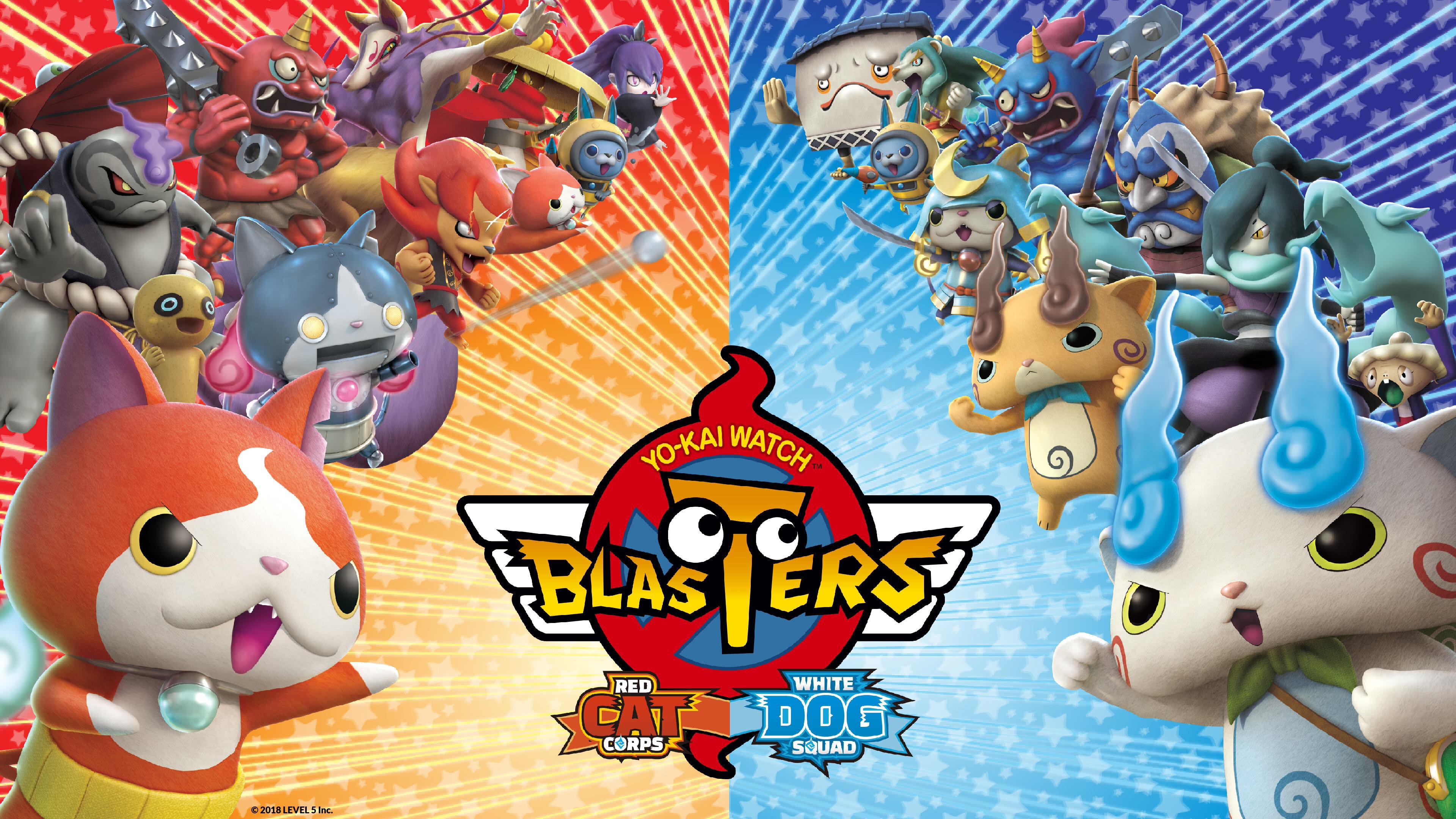 yo kai watch blasters uhd 4k wallpaper