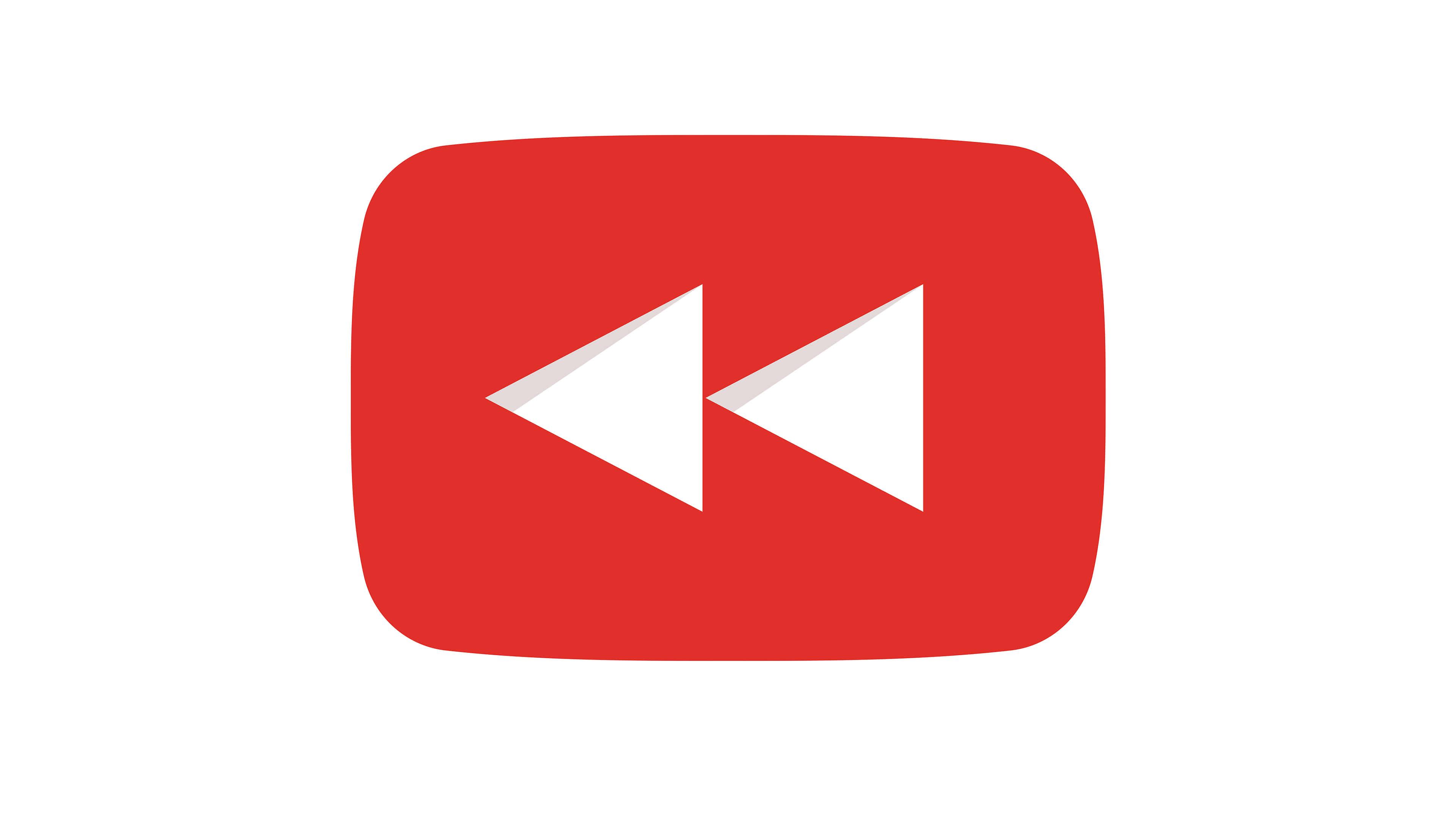 youtube rewind logo uhd 4k wallpaper