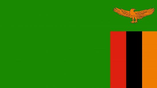zambia flag uhd 4k wallpaper